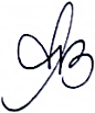 Assinatura | Ana Barros Cordeiro - Advogada